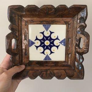 Vintage Tile Tray